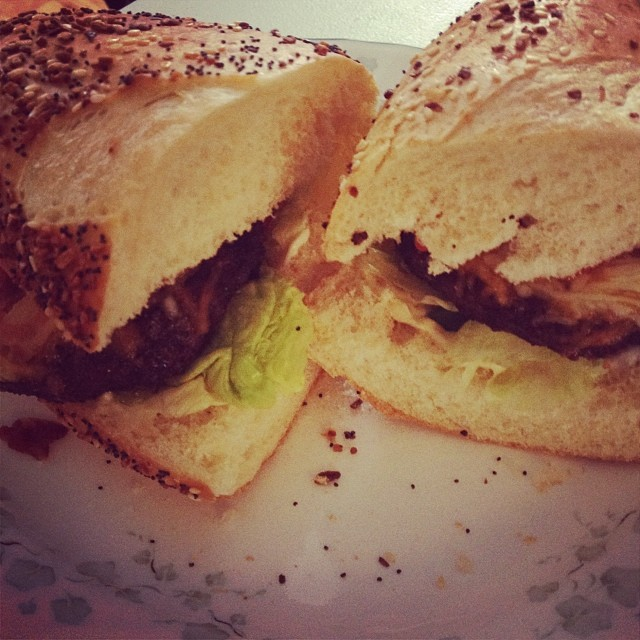 Mean burger sub
